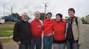 Januar 2010 besuchten wir Freunde in Pinar del Rio. v.l.n.r.: Jäcki, Darias, Monica, Irene, Corinna