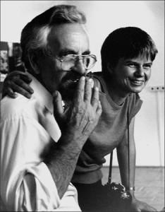 Gabriele Senft und Horst Sturm an seinem 65. Geburtstag